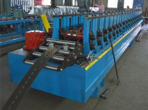 Quality 45#steel Photovoltaic Support Roll Forming Machine By Chain / Gear Box Driven for sale