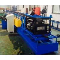 China 1 Year Warranty Racking Box Beam Cold Forming Machine For Shelf , 75mm Shaft Diameter on sale