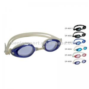 7bffa57535 Anti-fog silicone optical swimming goggles   eyeglasses Without Stress for  kids
