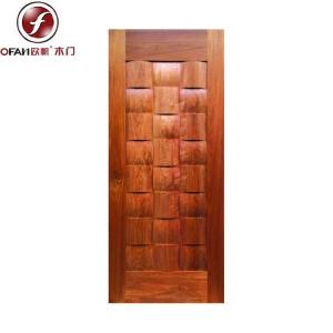 Supply top quality composite wood entry door with handle for sale ...