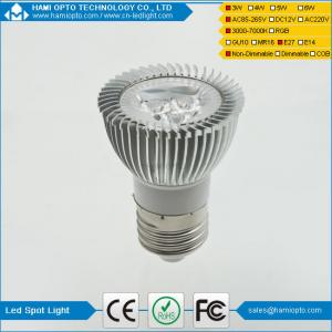 China New Products 3W LED Bulb Warm LED Spot LED Light E27 for indoor use AC85-265V CE on sale
