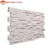China Exterior Artificial Stone Type Cultured Stone Panel Polyurethane PU Faux Stone Wall Panel on sale