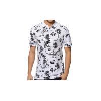 Collar White Short Sleeve Polo Shirts for Mens / Custom Polo Shirts