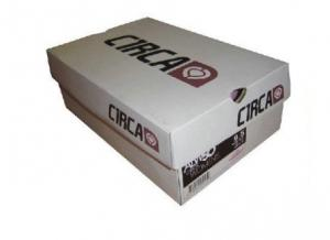 China Rectangle Custom Printed Cardboard Boxes With Glossy / Matt Lamination on sale