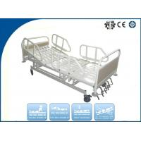 Luxury Five Function Folding Manual ICU Hospital Bed for Disabled Ambulance