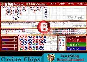 China Baccarat Reslut Electronic System / Casino Game Accessorries supplier