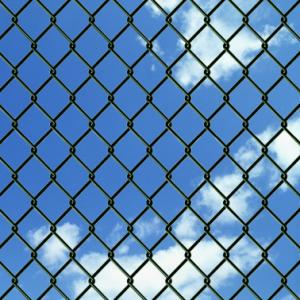 China Eco Friendly Industrial Chain Link Fence High Anti Corrosion 25m Length on sale