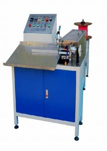 China Automatic Plastic Spiral Notebook Making Machine Max Forming Size 2 Inch on sale