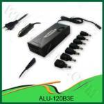 Carregador universal do poder do caderno da C.A. & da C.C. 120W para o uso da casa & do carro - ALU-120B3E
