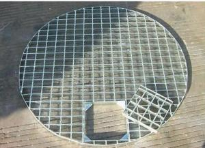 China Mild Steel Driveway Drain Grate Covers, Durable Metal Driveway Drainage Grates on sale
