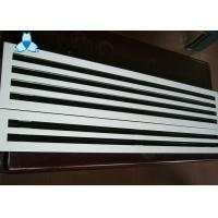 Anodized / Powder Coated Single Deflection Grille For Airflow Distribution Uniformity