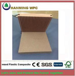 China 140X25mm WPC Solid decking VS PVC Solid decking which is Unti-uv for New Zealand on sale