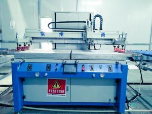 China Electronic Control Screen Printing Press Machine , 380V Silk Screen Printing Press on sale
