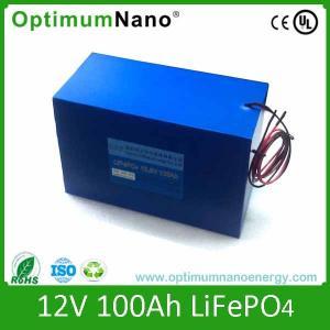 China 12V 100AH UPS LiFePO4 Battery Backup Battery Lithium-ion Battery on sale