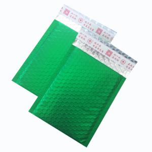 China Colorful plastic bubble bag/bubble shipping envelope with logo on sale