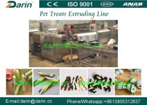 China Automatic Dog Food Extruder Twist Rope Treats Dog Treats Machinery on sale