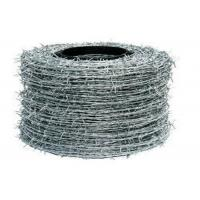 Building Barbed Wire Fence Hot Dipped Galvanized Single Strand Fence Wire