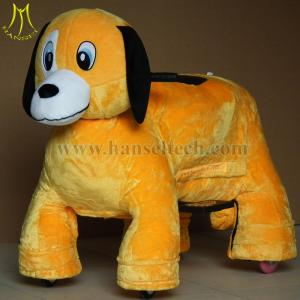 China Hansel baby electrical plush rocker horse electronic games machine for kids on sale