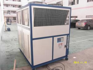 China Industrial Box Type Air Cooled Scroll Glycol Chiller Manufacturer RO-20A 59.08KW R22 / R407C / R410a on sale
