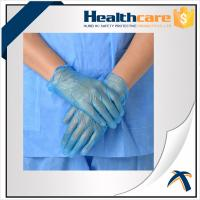 China AQL1.5 PVC Disposable Hand Gloves ,  Powder Free Vinyl Medical Gloves on sale