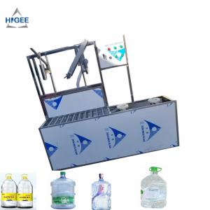 China SS 304 Food Grade 5 Gallon Water Bottle Filling Machine PLC Control 2200 *2000 * 2200 Mm on sale