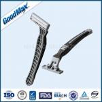 3101TL Triple Blade Disposable Razors , Goodmax Men'S Triple Blade Razors