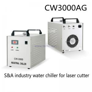 China S&A industrial water chiller CW3000 for cooling 60W 80W CO2 laser tube on sale