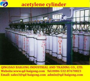 China BEST PRICES FACTORY SALE acetylene gas cylinder price on sale