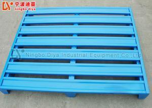 China Durable Storage Steel Stacking Rack System , Powder Coated Teardrop Pallet Rack on sale