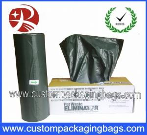 China Christmas EPI Biodegradable Disposable Dog Poop Bags With Customized And Colorful on sale