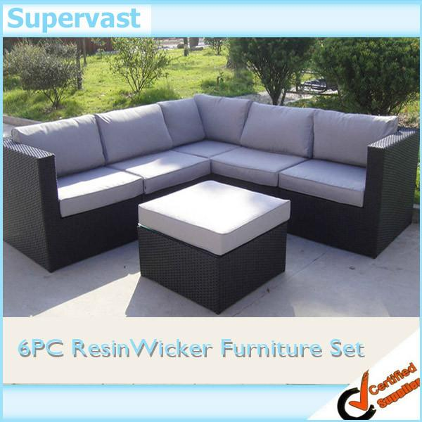 Enjoyable Resin Wicker Patio Furniture Outdoor Sectional Sofa Set With Squirreltailoven Fun Painted Chair Ideas Images Squirreltailovenorg