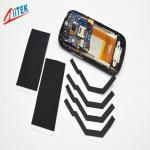 TIR 2100CU Ultra thin 240 W/ mK black thermal graphite sheet 85 shore00 -40℃ ~250℃ 2.7 g/cc for mobile phone