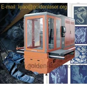 China Lazer Engraving Machine For Jean Pants on sale