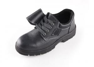 China PU  Upper Waterproof Steel Toe Safety Shoes , Safety Toe Work Shoes Oil Resistant on sale