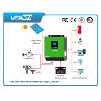 China 3000VA/2400W Off Grid DC to AC Solar Inverter with 60A MPPT solar charger on sale