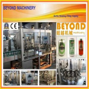 China Beer Filling Machine / Can Filling and Sealing Machine on sale