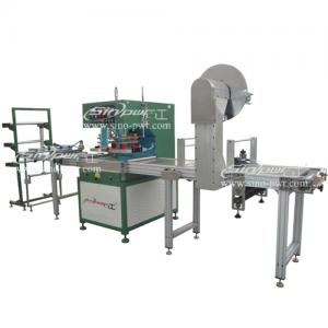 China high frequency autofeeding book cover,name card keeper welding machine on sale