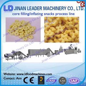 China corn puff extruder machine food processing machine puffs making machine on sale
