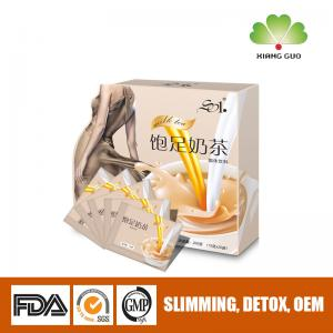 China Weight Loss Skiny Milk Tea , Meal Replacement For Slimming , loss 2-3kg in 7days on sale