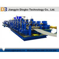China DB219 HF Straight Seam Welded Tube Mill Line , Metal Tube & Rolling Mills on sale