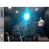 9 Seats Mobile Movie Theater Black With Metal Flat Screen