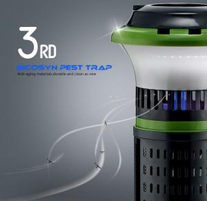 China Nontoxic Mosquito Trap Non-Chemical Flies Killer Mosquito Inhaler Intelligent Light control on sale