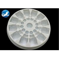 China Plastic Vacuum Forming Plastic Process  PVC Clear And White  Blister Packaging Tray on sale