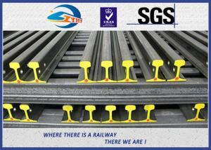 China U71Mn  Railroad Steel Crane Rail / Overhead Crane Rail YB/T5055-93 on sale