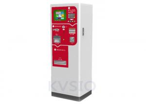 China Interactive Automated Parking Pay Machine , Parking Lot Machine Unique Design on sale