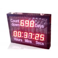 Outdoor Led Digital Clock Large Display With Wireless Remote Controller