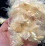 UV Proof Soybean Protein Fiber , Bleached Hydrophilic Finish Natural Textile Fibres