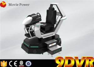 China Virtual Reality 9D VR Cinema Driving Car Simulator With Online Game Free Download on sale