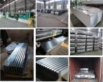Galvanized steel roofing sheets with 0.15mm thickness 665mm width 2440mm length