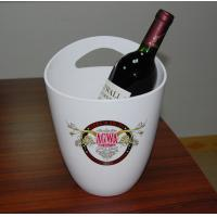 China Custom mini personalized acrylic wine bucket box / champagne ice buckets for restaurant on sale